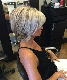 Inverted Bob Haircuts For Fine Hair - Hair Beauty 2015 Hairstyles, Short Bob Hairstyles, Trendy Hairstyles, Medium Hair Styles, Short Hair Styles, Inverted Bob Haircuts, Short Layered Haircuts, Layered Bob Short, Short Layers