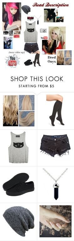"""""""bleached my hair again"""" by dreadful-glassheart ❤ liked on Polyvore featuring Nordstrom, Brandy Melville, Vans, KBETHOS, Nikon and GUiSHEM"""