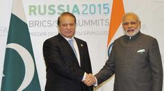 Narendra Modi, Nawaz Sharif, modi meet sharif, narendra modi nawaz sharif, brics, Ufa, Modi Sharif meet, Sharif Modi meet, modi russia, russia modi, modi sharif meeting, sharif modi meeting, modi brics, modi saarc, modi pakistan, modi news, pakistan news, india news, russia news, world news, indian express