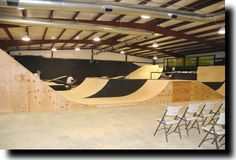 skate park inside - Google Search Skate Park, Outdoor Furniture, Outdoor Decor, Skateboarding, Bmx, Sun Lounger, Indoor, Google Search, Interior