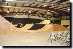 skate park inside - Google Search