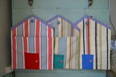 Beach Hut peg bags