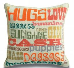 Johnathan Adler Happy pillow