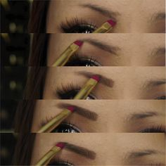 how to do your eyebrows at home, how to draw perfect eyebrows