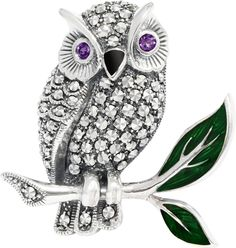 1 Owl in Love Brooch