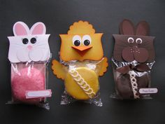 hostess cupcakes for Easter :)