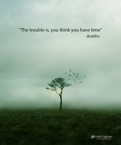 The trouble is you think you have time Budha quotes taglines . whatsapp taglines budhha, cool taglines, picture quites hashtaglines
