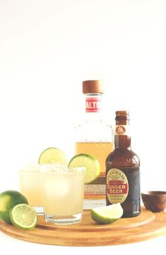 Margaritas might seem like a drink destined for summer, but with the addition of ginger beer, these classic drinks get a fall-friendly makeover. Get the recipe from The Minimalist Baker.   - Delish.com
