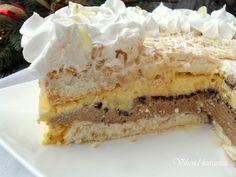 Sweet Recipes, Cake Recipes, Dessert Recipes, Posne Torte, Bread Dough Recipe, Torte Recipe, Kolaci I Torte, Torte Cake, Desserts To Make