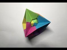 Origami The Lightning Bolt Octahedron - YouTube