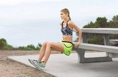Do-Anywhere Moves | Skinny Dip: Works core, triceps, shoulders, chest