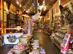 Big Top Candy Shop on South Congress.         A-ma-zing.