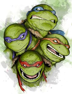 TMNT - Brothers by ~L-Ritchie