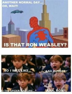 41 Ideas For Funny Harry Potter Things Ron Weasley Dc Memes, Memes Humor, Funny Jokes, Marvel Memes, Humor Humour, That's Hilarious, Funny Ads, Nerd Humor, Fun Funny