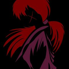 Minimalist Kenshin Himura  Available as T-Shirts & Hoodies, Stickers, iPhone Cases, Samsung Galaxy Cases, Posters, Home Decors, Tote Bags, Prints, Cards, and iPad Cases    #rurounikenshin #kenshin #kenshinhimura #kenshinshirt #kenshintshirt #anime #manga #redbubble #samurai #minimalist #silhouette