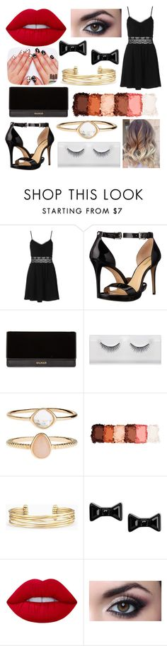 """Untitled #21"" by trinbugess ❤ liked on Polyvore featuring Topshop, MICHAEL Michael Kors, Balmain, Accessorize, NYX, Stella & Dot, Marc by Marc Jacobs and Lime Crime"