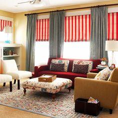 Fun & Functional Family Room