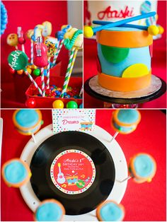 Music Inspired DIY Birthday Party Decorations - Perfect for a 1st Birthday Party!