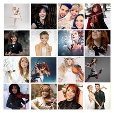 """""""lindsey stirling moodboard in honor of warmer in the winter"""" by definitive-gen ❤ liked on Polyvore featuring art and definitivegen"""