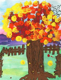 Art lesson plans are a great resource for elementary art lesson plans for art teachers looking for fun ideas. Featuring art lessons for Kindergarten - graders. Teacher Tools, Art Teachers, Elementary Art Lesson Plans, Fall Art Projects, Tree Artwork, Tree Images, Pointillism, Autumn Art, Fun Ideas