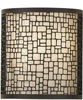 Joplin 1-Light Wall Sconce Light Antique Bronze WB1564LAB