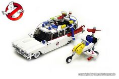 A LEGO Ghostbusters Fire Station Headquarters