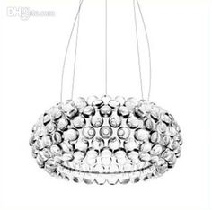 Wholesale Lighting Fixtures - Buy Ø 50cm New Modern Caboche Acrylic Ball Chandelier Ceiling Light Pendant Lamp, $173.89 | DHgate
