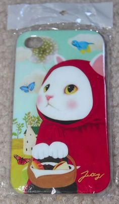 Jetoy Iphone 4G 4S case cover Anime Japanese Kitty Cat~ fast delivery!