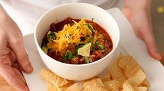 Yummy 30 minute chili by Sarah Carey on Everyday Food