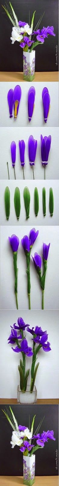 Be Amaze with these DIY IDEAS: Nylon Flower