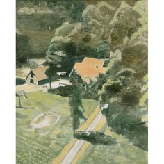 Backyard - Luc Tuymans , 2002 Belgian, b. Oil on canvas, 54 ¾ x 44 in. The Museum of Contemporary Art, LA Museum Of Contemporary Art, Contemporary Paintings, Figure Painting, Painting & Drawing, Congo Belga, Luc Tuymans, Los Angeles Museum, Moca, Art Blog