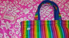 Hey, I found this really awesome Etsy listing at https://www.etsy.com/listing/213803103/rainbow-purse-cotton-yellow-zipper-blue