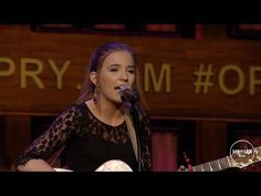 """Lennon and Maisy - """"A Life That's Good"""" Live at the Grand Ole Opry - YouTube"""