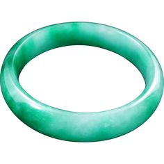 Lovely deep green jade child's bangle with nice translucency. A cold, shiny small jade bangle. It has milky white inclusions. It has been treated with