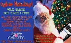 Wax Tarts - BUY 3 Get 1 FREE*  #christmas #soycandles #waxtarts #cybermonday #MondayFunday  https://www.jewelryincandles.com/store/patlobitz