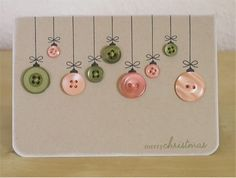 button crafts for adults | Scribble Blog-Inspiring Creativity � DIY holiday crafts