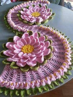 Lindas peças em crochê: inspiradoras