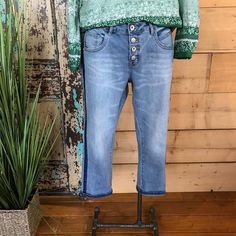 Paulina Demin Capri, Fashion & Jewellery – The Passionate Home, Langley BC Fashion Jewellery, Bell Bottoms, Bell Bottom Jeans, Capri, Skinny Jeans, Collection, Jewelry, Skinny Fit Jeans, Jewellery Making