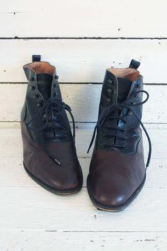 vintagelaarzen - vintageboots - vintagefootwear - vintagefashion - ankleboots - vintage