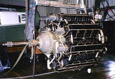 XR-7755 Restoration Aircraft Engine, Ww2 Aircraft, Hydrogen Fuel, Air Planes, Vines, Aviation, Restoration, Engineering, Plant