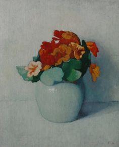 Marinus Adamse (1891-1977) - Flowering sprig