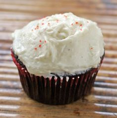 """""""Can't Beet Red Velvet Cupcakes"""" Sorta labor-intensive, but worth it to avoid red food coloring! And the roux frosting is ridiculously good."""