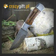 Grawerowany nóż myśliwski ze stali damasceńskiej to prezent dla prawdziwego mężczyzny ;) http://bit.ly/1rvlpga