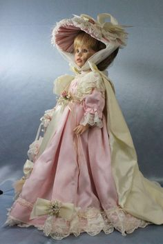 "Beautiful 18"" Vinyl Victorian ""Laura"" by Susan Wakeen 1998 to 750 VHTF 