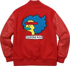 Crisp Culture — Supreme x Mark Gonzales Varsity Jacket