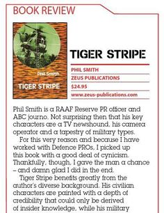 Book Review - Tiger Stripe. Published in issue #4, December 2004