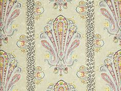"""Grand Paisley"" Jim Thompson Fabrics. Encuéntralo en Alboroque Decoración."