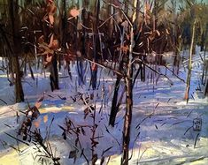 BoldBrush Painting Competition Winner - February 2016 | Our Woods by Jonathan Hayes