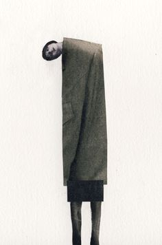 Isabel Reitemeyer's collages are minimal and surreal pictures with a wonderful sense of space that engages us with an immediacy, creating a striking picture with an emotional impact.  www.isabel-reitemeyer.com/