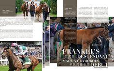 Frankel's descendant made a glamorous debut Read more http://issuu.com/blacktype/docs/150202_blacktype_issue4… #blacktypehk #horseracing #luxury